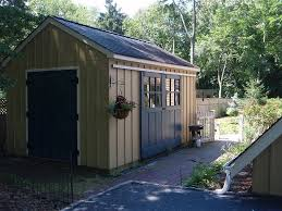 shed with sliding barn doors adore