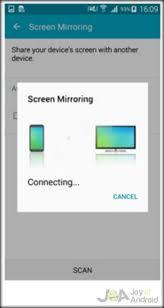 vizio screen mirroring on android