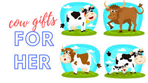 25 cow gifts for her cows forever