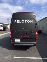 Peloton Cycle Fleet Wraps Costa Mesa Irvine Newport Beach Lucent Graphic Solutions