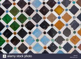 Los mosaicos de azulejos de cerámica de color cuadrados, Palacios ...