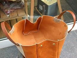 bag pattern leather diy pdf