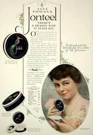 jonteel 1920 face powder vine