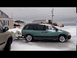 snow plow is the ultimate mini van