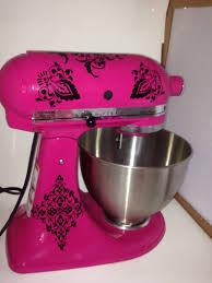 Kitchenaid Mixer Damask Decals Filigree Decals Kitchenaid Etsy