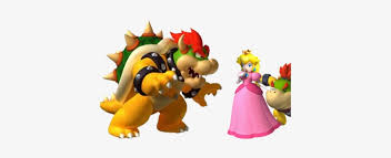 Bowser Kidnapping Peach P City Super Mario Party Small Wall Decals Transparent Png 400x300 Free Download On Nicepng