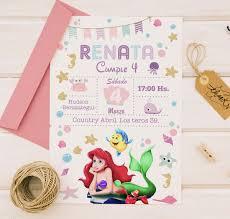 Invitacion Tarjeta Cumpleanos Infantiles Imprimibles Pdf 285