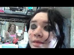 emo makeup gone wrong you