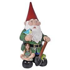 massive 8 5 feet tall garden gnome statue