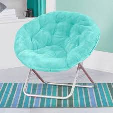 Kids Children Toddlers Teens Saucer Moon Chair Bedroom Play Game Room Seating Saucer Chairs Bedroom Turquoise Dorm Furniture
