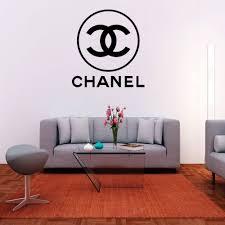 Chanel Logo Wall Decal Krafmatics