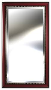 embossed mirror 24 x48 transitional