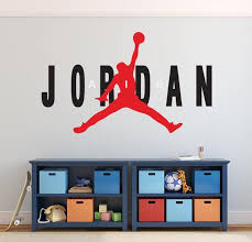 Michael Jordan Wall Decal Basketball Wall Decal