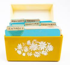 Recipe Box stock photo. Image of 1960, style, recipes - 80448102