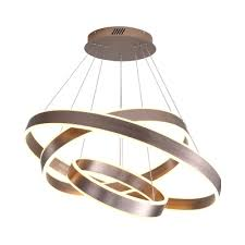 brown ring pendant lighting modern 1 2