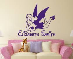 Buy Tinkerbell Name Wall Decal Vinyl Decals Sticker Custom Name Decals Personalized Baby Girl Name Decor Bedroom Nursery Baby Room Decor X89 In Cheap Price On Alibaba Com