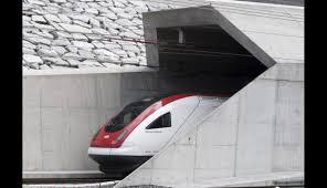 Resultado de imagen para tunel ferroviario en suiza