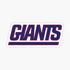 New York Giants Stickers Redbubble