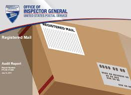 registered mail usps office of