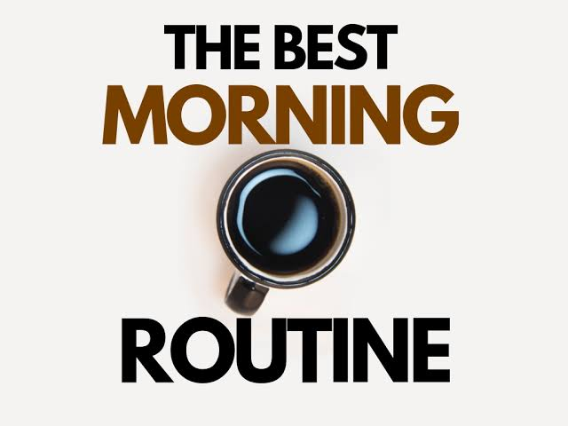 Image result for morning routine""
