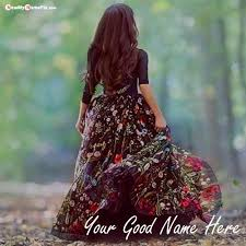 write name on beautiful collection