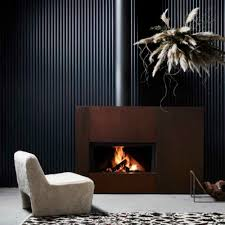 designer fireplaces wood heaters