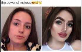 the super power of makeup meme guy