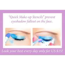 quick makeup stencils 1 set