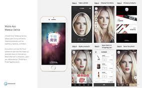 loreal makeup genius mobile app resonance