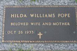 Hilda Williams Pope (1933-Unknown) - Find A Grave Memorial