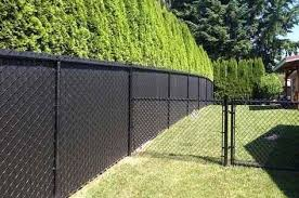 How To Install Temporary Chain Link Fence With Easy Steps Black Chain Link Fence Chain Link Fence Privacy Chain Link Fence Panels