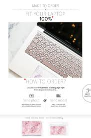 Rose Gold Keyboard Decals Asus Keyboard Stickers Laptop Skin Arte Con Letras Ordenador Letras