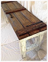 barn door tables