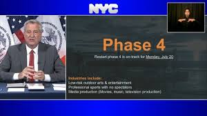 Reopen NYC: Details on Phase 4 reopening on Monday - ABC7 New York