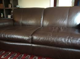 leather furniture repair before after