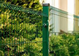 Pvc Coated Steel Wire Fencing 55mmx200mm Wire Mesh Garden Fence