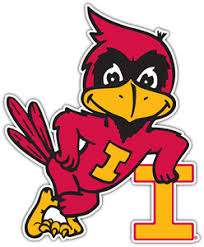Iowa State Cyclones Ncaa Vinyl Car Bumper Window Sticker Decal 4 X5 Ebay