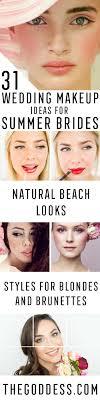 wedding makeup ideas for summer brides