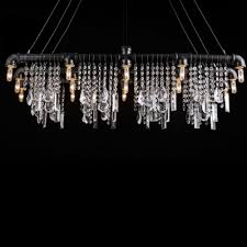 iron bar with crystal droplet vintage