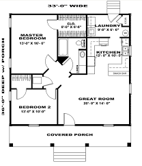 house plan 64556 with 1007 sq ft 2