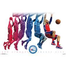 Ben Simmons Philadelphia 76ers 22 X 34 Player Poster