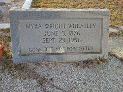 Myra Jane Wright Wheatley (1876-1956) - Find A Grave Memorial