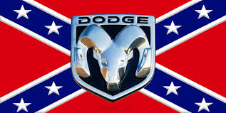 Dodge Ram Rebel Flag Sticker Custom Wall Graphics