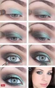 makeup tutorials for blue eyes koees