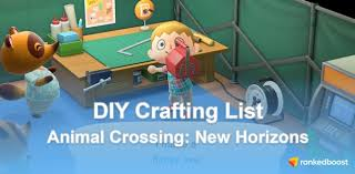 Animal Crossing New Horizons Diy Recipes How To Get Crafting Recipes