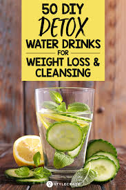 diy detox drinks to lose weight easy