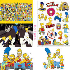 The Simpsons Movie Posters Wall Stickers Decoration Good Quality Prints White Coated Paper Wall Stickers Aliexpress