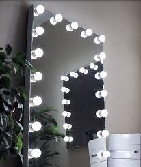 hollywood led full length floor mirror