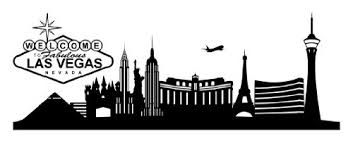 Las Vegas City Skyline Wall Decal Wall Sticker Vinyl Wall Art Home Decor Wall Mural 1331 31in X 11in Black Walmart Com Walmart Com