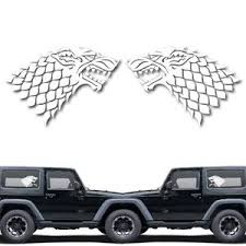 House Of Stark Game Of Throne Decal Sticker For Car Window Laptop And Yoonek Graphics